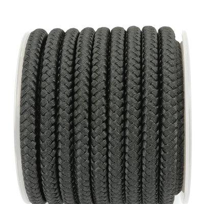 Шелковый шнур Милан 231   5.0 мм, Цвет: Черный 01
