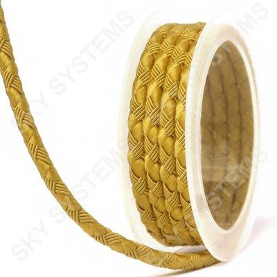 Шелковый шнур Милан 222 | 5.0 мм, Цвет: Желтый 07