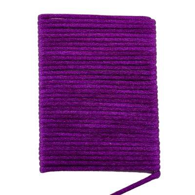 Шелковый гладкий шнур 2.0 мм Фиолетовый 17