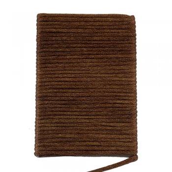 Шелковый шнур гладкий | 2.0 мм Цвет: Коричневый 90