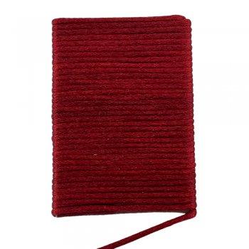 Шелковый шнур гладкий   2.0 мм Цвет: Бордо 128
