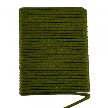Шелковый шнур гладкий | 2.0 мм Цвет: Темно-зеленого LM