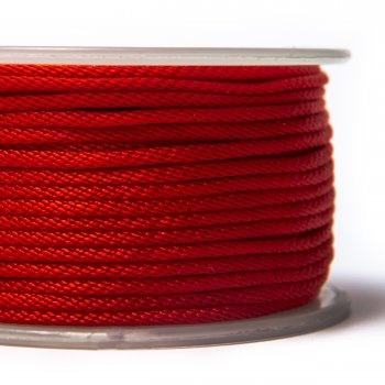 Шелковый шнур Милан 214 | 2.0 мм, Цвет: Красный 08