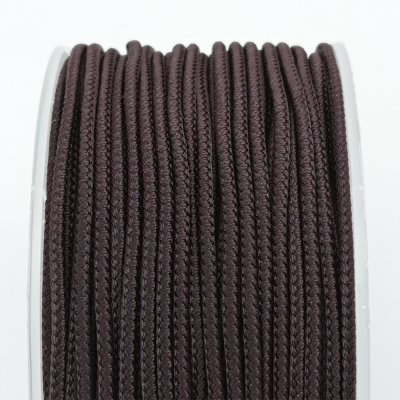 Шелковый шнур Милан 232 | 2.0 мм, Цвет: Коричневый 35