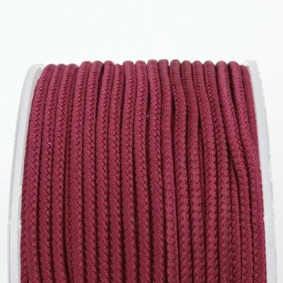 Шелковый шнур Милан 232 | 2.0 мм, Цвет: Бордо 15
