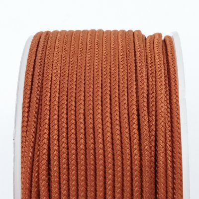 Шелковый шнур Милан 232 | 2.0 мм, Цвет: Теракот 12