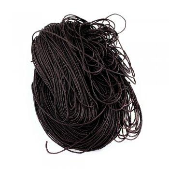 Гладкий вощеный шнур 1.0 мм, Баклажан 06