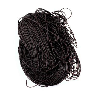 Вощеный хлопковый шнур 1.0 мм Баклажан 06