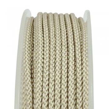 Шелковый шнур Милан 229 | 2.0 мм, Цвет: Крем 02