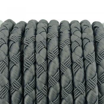 Шелковый шнур Милан 222   5.0 мм Цвет: Серый 11