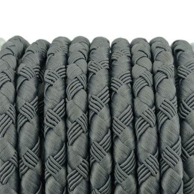 Шелковый шнур Милан 222 | 5.0 мм, Цвет: Серый 11