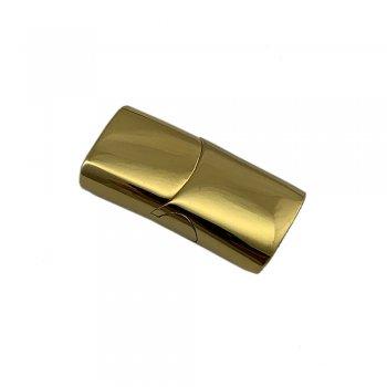 Стальной замок магнитный 10х5 мм Gold