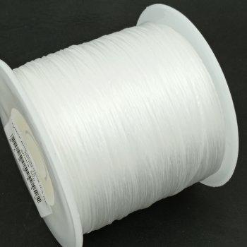 Резинка для браслетов 0.8 мм Белый 10