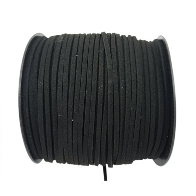 Алькантара 1.4х2.5 мм Черный 11