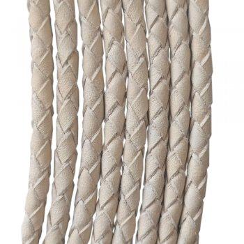 Кожаный плетеный шнур 5.0 мм Растительное дубление Ultra Sky