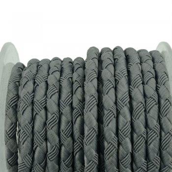 Шелковый шнур Милан 222 | 4.0 мм, Цвет: Серый 11