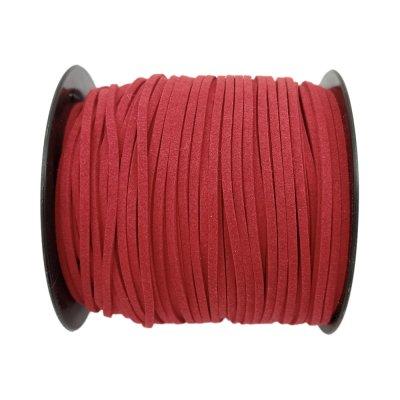 Алькантара 1.4х2.5 мм Красный 13