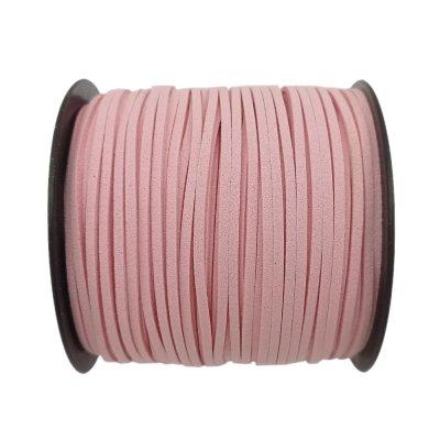 Алькантара 1.4х2.5 мм Розовый 05