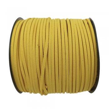 Алькантара 1.4х2.5 мм Желтый 14