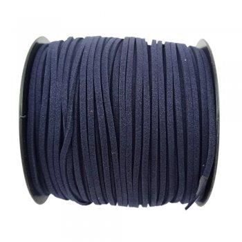 Алькантара 1.4х2.5 мм Синий 27
