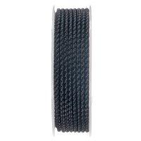 Шелковый шнур Милан 2016 | 2.5 мм, Цвет: Черный 01