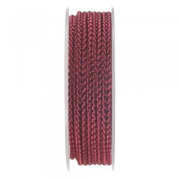 Шелковый шнур Милан 2016   2.5 мм, Цвет: Малиновый 10