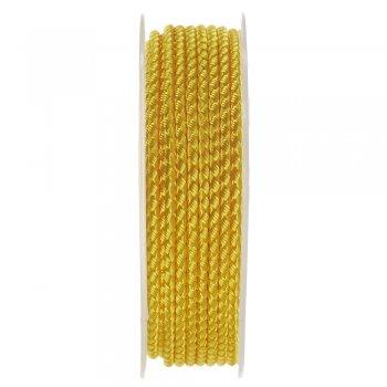 Шелковый шнур Милан 2016   2.5 мм, Цвет: Желтый 17