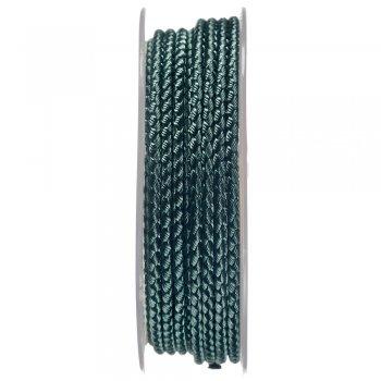 Шелковый шнур Милан 2016   2.5 мм, Цвет: Зеленый 22