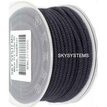 Шелковый шнур Милан 221   3.0 мм Цвет: Серый 05