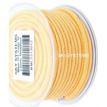 Шелковый шнур Милан 221   3.0 мм Цвет: Желтый 12