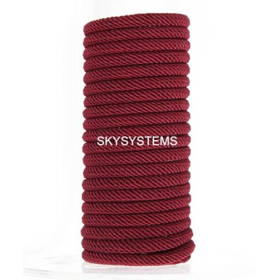 Шелковый шнур Милан 221 | 4.0 мм, Цвет: Бордо 15