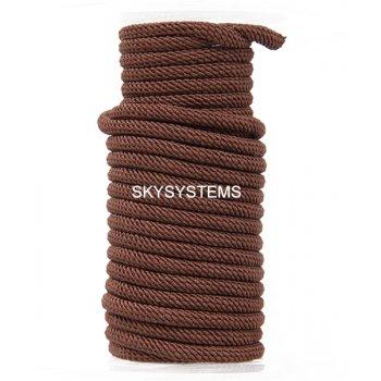 Шелковый шнур Милан 221 | 4.0 мм, Цвет: Коричневый 36