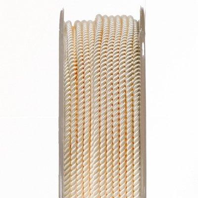 Шелковый шнур Милан 226 | 2.0 мм, Цвет: Крем 02