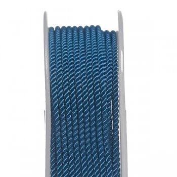 Шелковый шнур Милан 226 | 2.0 мм, Цвет: Синий 08