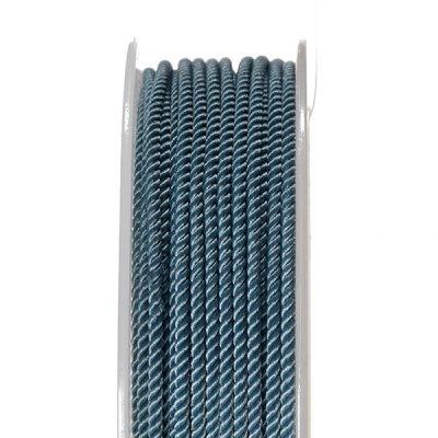 Шелковый шнур Милан 226 | 2.0 мм, Цвет: Синий 09