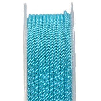 Шелковый шнур Милан 226   2.0 мм, Цвет: Бирюзовый 10