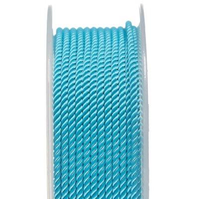 Шелковый шнур Милан 226 | 2.0 мм, Цвет: Бирюза 10