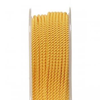 Шелковый шнур Милан 226 | 2.0 мм, Цвет: Желтый 13