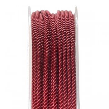 Шелковый шнур Милан 226 | 2.0 мм, Цвет: Бордовый 15