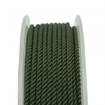 Шелковый шнур Милан 226   2.0 мм, Цвет: Зеленый 19