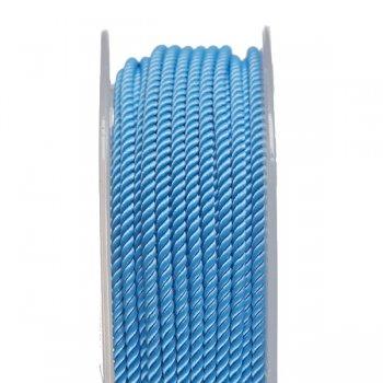 Шелковый шнур Милан 226   2.0 мм, Цвет: Голубой 22