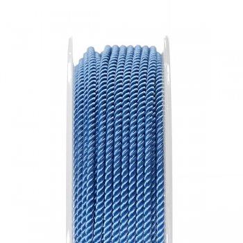 Шелковый шнур Милан 226 | 2.0 мм, Цвет: Голубой 22