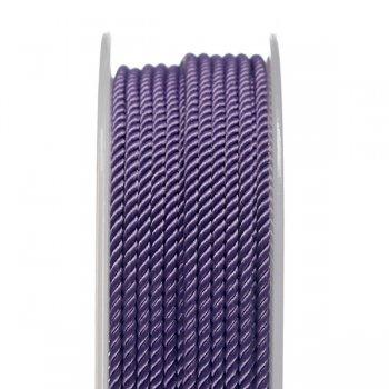 Шелковый шнур Милан 226 | 2.0 мм, Цвет: Фиолетовый 26