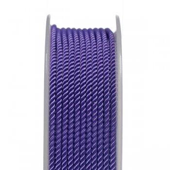 Шелковый шнур Милан 226 | 2.0 мм, Цвет: Фиолетовый 27