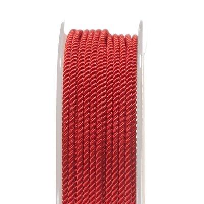 Шелковый шнур Милан 226   2.0 мм, Цвет: Красный 30