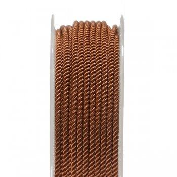 Шелковый шнур Милан 226 | 2.0 мм, Цвет: Коричневый 34