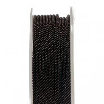 Шелковый шнур Милан 226 | 2.0 мм, Цвет: Коричневый 35
