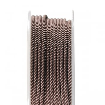 Шелковый шнур Милан 226   2.0 мм, Цвет: Коричневый 37