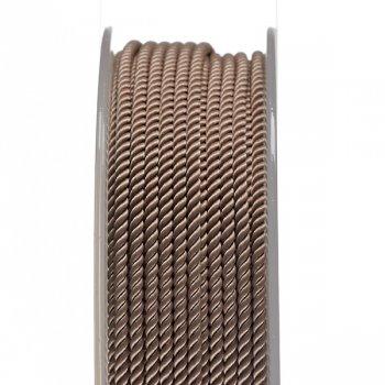 Шелковый шнур Милан 226   2.0 мм, Цвет: Бежевый 38