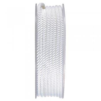 Шелковый шнур Милан 226   3.0 мм, Цвет: Белый 01